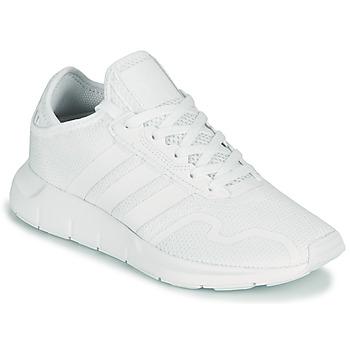 Buty Dziecko Trampki niskie adidas Originals SWIFT RUN X J Biały
