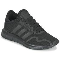 Buty Dziecko Trampki niskie adidas Originals SWIFT RUN X J Czarny