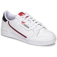 Buty Damskie Trampki niskie adidas Originals CONTINENTAL 80 Biały / Czerwony