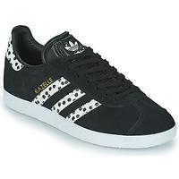 Buty Damskie Trampki niskie adidas Originals GAZELLE W Czarny / Biały
