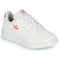 Buty Dziecko Trampki niskie adidas Originals NY 92 C Biały / Różowy