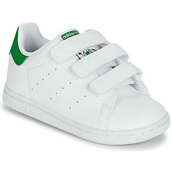 Buty Dziecko Trampki niskie adidas Originals STAN SMITH CF I SUSTAINABLE Biały / Zielony