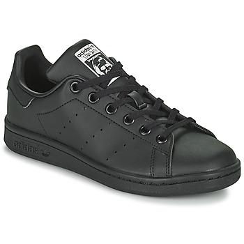 Buty Dziecko Trampki niskie adidas Originals STAN SMITH J SUSTAINABLE Czarny