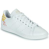 Buty Damskie Trampki niskie adidas Originals STAN SMITH W SUSTAINABLE Biały / Wielokolorowy