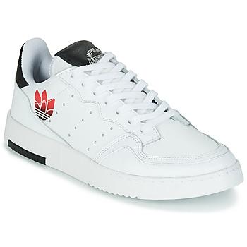 Buty Damskie Trampki niskie adidas Originals SUPERCOURT Biały / Czarny