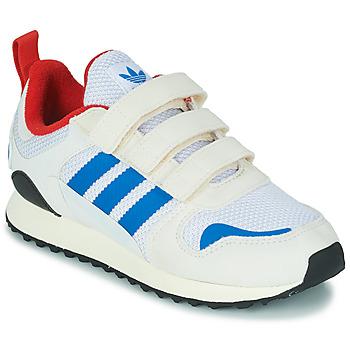 Buty Dziecko Trampki niskie adidas Originals ZX 700 HD CF C Beżowy / Niebieski