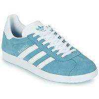 Buty Damskie Trampki niskie adidas Originals GAZELLE W Niebieski