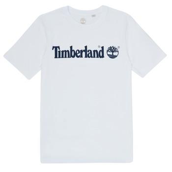 tekstylia Chłopiec T-shirty z krótkim rękawem Timberland FONTANA Biały
