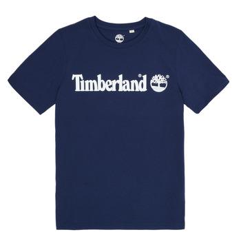 tekstylia Chłopiec T-shirty z krótkim rękawem Timberland VUILL Marine