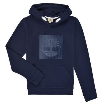 tekstylia Chłopiec Bluzy Timberland MOMMO Marine