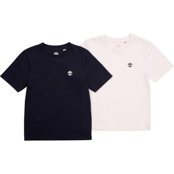 tekstylia Chłopiec T-shirty z krótkim rękawem Timberland FONNO Wielokolorowy