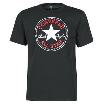 tekstylia Męskie T-shirty z krótkim rękawem Converse NOVA CHUCK PATCH TEE Czarny