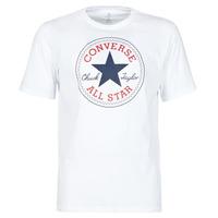 tekstylia Męskie T-shirty z krótkim rękawem Converse NOVA CHUCK PATCH TEE Biały