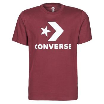 tekstylia Męskie T-shirty z krótkim rękawem Converse STAR CHEVRON TEE Bordeaux