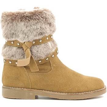 Buty Dziecko Śniegowce Naurora NA-640 Beżowy