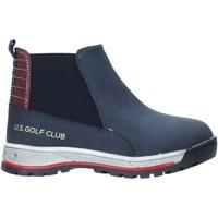 Buty Dziecko Buty za kostkę U.s. Golf W19-SUK525 Niebieski
