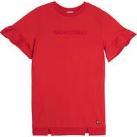tekstylia Dziewczynka Sukienki krótkie Carrément Beau Y12234-992 Czerwony