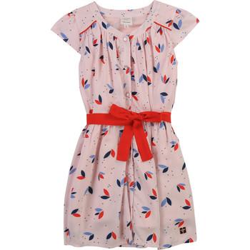 tekstylia Dziewczynka Sukienki krótkie Carrément Beau Y12246-44L Różowy