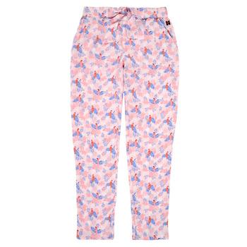 tekstylia Dziewczynka Spodnie z lejącej tkaniny / Alladynki Carrément Beau Y14187-44L Różowy
