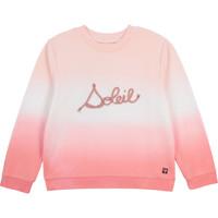 tekstylia Dziewczynka Bluzy Carrément Beau Y15373-N44 Biały / Różowy