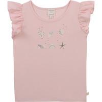 tekstylia Dziewczynka T-shirty z krótkim rękawem Carrément Beau Y15378-44L Różowy
