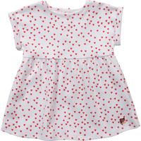 tekstylia Dziewczynka Sukienki krótkie Carrément Beau Y92119-10B Biały