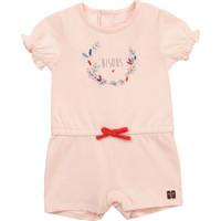 tekstylia Dziewczynka Kombinezony / Ogrodniczki Carrément Beau Y94234-44L Różowy