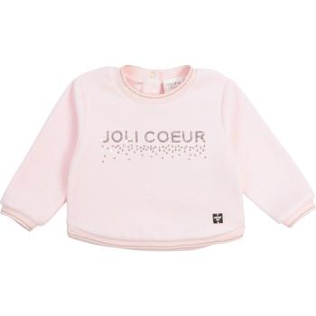 tekstylia Dziewczynka Bluzy Carrément Beau Y95254-44L Różowy