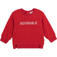 tekstylia Dziewczynka Bluzy Carrément Beau Y95256-992 Czerwony