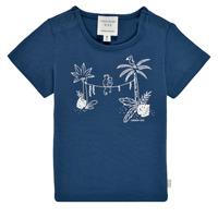 tekstylia Chłopiec T-shirty z krótkim rękawem Carrément Beau Y95274-827 Marine