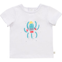 tekstylia Chłopiec T-shirty z krótkim rękawem Carrément Beau Y95275-10B Biały
