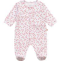tekstylia Dziewczynka Piżama / koszula nocna Carrément Beau Y97101-10B Biały