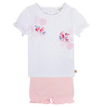 tekstylia Dziewczynka Komplet Carrément Beau Y98112-N54 Wielokolorowy