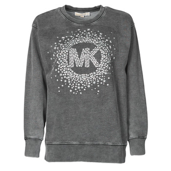 tekstylia Damskie Bluzy MICHAEL Michael Kors ACID WSH MK STAR STUD Czarny