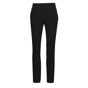 tekstylia Damskie Spodnie z pięcioma kieszeniami Karl Lagerfeld SUMMERPUNTOPANTS Czarny
