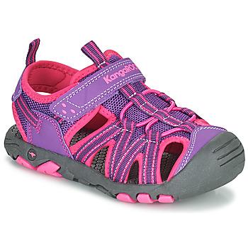 Buty Dziewczynka Sandały Kangaroos K-ROAM Różowy / Szary
