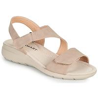 Buty Damskie Sandały Damart 67808 Beżowy / Różowy