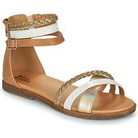 Buty Dziewczynka Sandały Bullboxer ALM013F1S-GOLD Brązowy