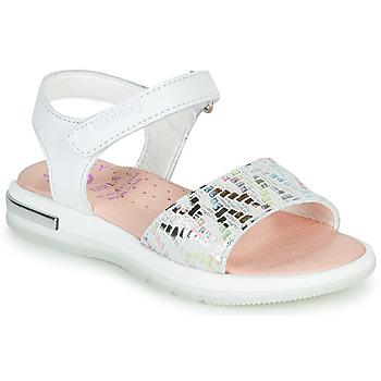 Buty Dziewczynka Sandały Pablosky CAMMI Biały / Multico