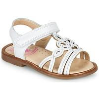 Buty Dziewczynka Sandały Pablosky MARIE Biały