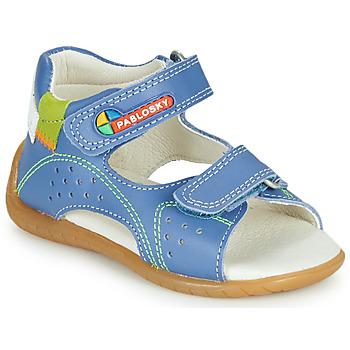 Buty Chłopiec Sandały Pablosky KINNI Niebieski