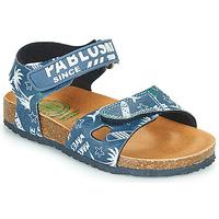 Buty Chłopiec Sandały Pablosky FOUNIR Niebieski