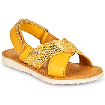 Buty Dziewczynka Sandały Citrouille et Compagnie OVETTE Żółty