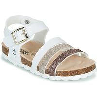 Buty Dziewczynka Sandały Citrouille et Compagnie OMAYA Biały