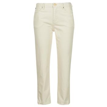 tekstylia Damskie Jeansy slim fit Pepe jeans DION 7/8 Ecru / Wi5
