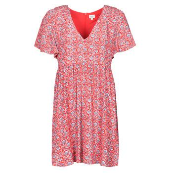 tekstylia Damskie Sukienki krótkie Pepe jeans CAROLINA Czerwony / Niebieski