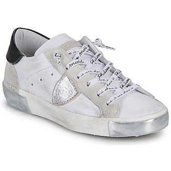 Buty Damskie Trampki niskie Philippe Model PARIS Biały