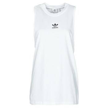 tekstylia Damskie Topy na ramiączkach / T-shirty bez rękawów adidas Originals TANK Biały