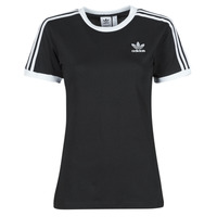 tekstylia Damskie T-shirty z krótkim rękawem adidas Originals 3 STRIPES TEE Czarny