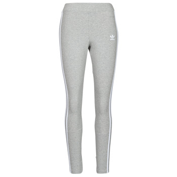 tekstylia Damskie Legginsy adidas Originals 3 STRIPES TIGHT Szary